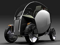 Naro Konzeptfahrzeug Brennstoffzelle