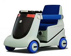 MIO Brennstoffzellen-Rollstuhl