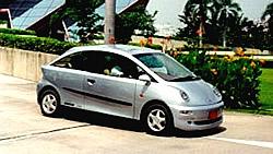 Elektromobil Pantila electric coupé von Horlacher