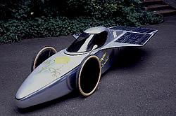 Renn-Solarmobil Yellow Cosmos