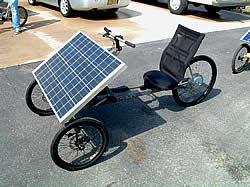 Solartrike, späteres Modell