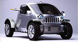 Brennstoffzellen-Fahrzeug Jeep Treo