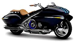 Hybrid-Motorrad Gen-Ryu