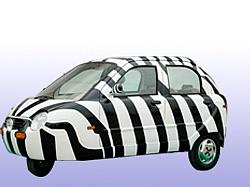 Elektromobil Xebra Hybrifahrzeug