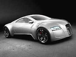 Elektromobil-Studie R-Zéro
