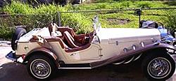 Nachbau des 1929er Mercedes Gazelle