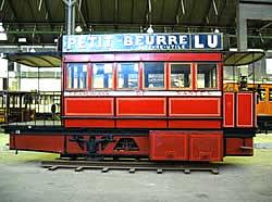 Druckluft Straßenbahn