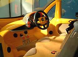 MiniCAT Innenraum druckluftauto