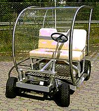 Stickstoffbetriebener Golf-Wagen