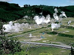 Geothermalenergieanlage Nutzung von Erdwärme