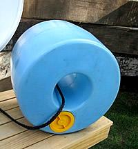 Wassertransport Rollreifen Q Drum