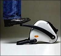 Generator mit Fußtretkurbel