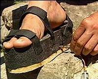 Energieerzeugender Schuh