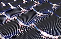 Solare Glasdachziegel von Kyocera