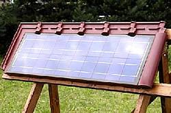 Solardachziegel-Modul