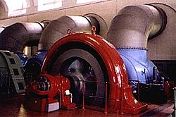 Wasserturbine mit Generator