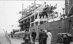 Eis-Schiff La Tunise 1935