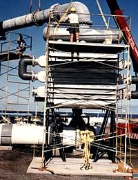 Kondenser des Keahole Point OTEC