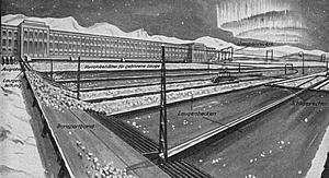 Grafik des Barjot-Eiskraftwerkes