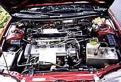 Dingel Wassermotor  im Auto