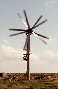Gegenläufiger Rotor auf Tinnum