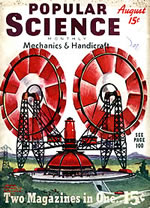 Titelbild der Popular Science vom August 1939