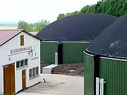 Moderne Biogasanlage