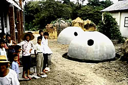 Biogaskuppeln aus Beton