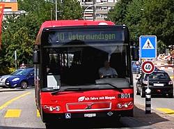 Biogas-Bus in der Schweiz