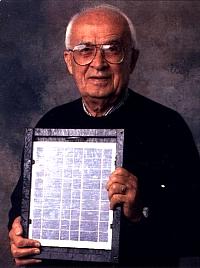 Portrait von Ludwig Bölkow