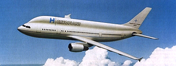 Cyroplane Wasserstoff Flugzeug