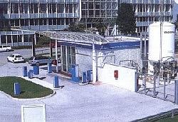 Wasserstoff Tankstelle am Flughafen München