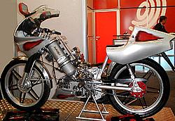 Zeitler Wasserstoff Motorrad Versuchsmodell