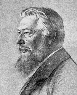 Portrait von Friedrich W. Ostwald