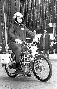 Brennstoffzellen-Motorrad von Kordesch