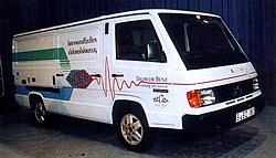 Necar 1  Versuchsfahzeug Brennstoffzelle