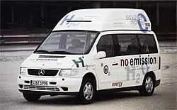 Necar 2 Versuchsfahrzeug Brennstoffzelle