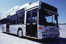 Nebus Wasserstoff-Bus Brennstoffzelle