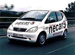 Necar 3 PKW Brennstoffzelle Daimler Mercedes Benz