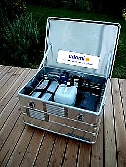 Transportable Brennstoffzelle EFOY Outdoor Box