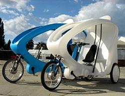 CityCruiser 2 Brennstoffzellen-verstärkte Rikschas