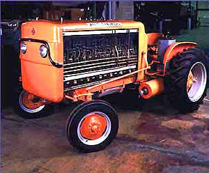 D-12 Brennstoffzellen-Traktor