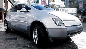 Hypercar Revolution PKW Brennstoffzelle