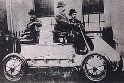 Porsches E-Mobil von 1900