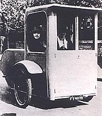 Elektromobil von 1921
