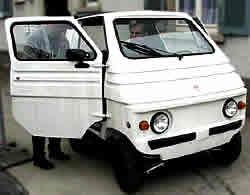Elektromobil Zegato Zele auto hybrid