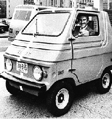 Elektromobil Elcar auto hybrid