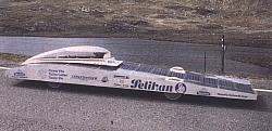 Wettbewerbs-Elektromobil Solar-Express 3