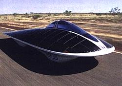 Wettbewerbs-Elektromobil Dream von Honda