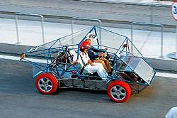 Elektromobil-Versuchsfahrzeug Exe